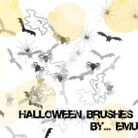 Halloween Brushes by 888739