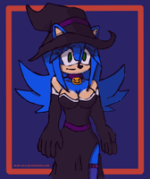 Little Witch by MOK-AXE