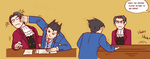Ace Attorney 5: Psychological Tactics by Pandadrake