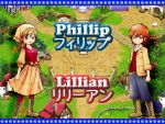 HM ToTT Phillip and Lillian Bluebell Wallpaper by DarkGreiga