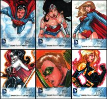 DC New 52 cards samples by Peng-Peng