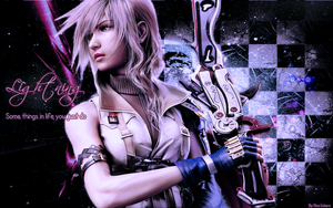 Lightning Farron - Wallpaper by rina-imbers