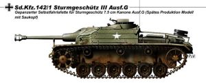 StuG III Ausf.G american by nicksikh