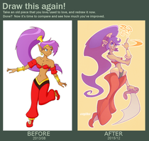 Draw this again! (analysis in description) by cayiika