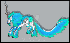 Kirin Adoptable Auction - SOLD by Artha-Demon