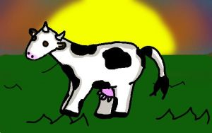 OMG IT'S A COW by Raysa296
