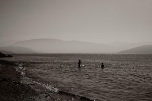 the mountains, the sea and... by herbstkind