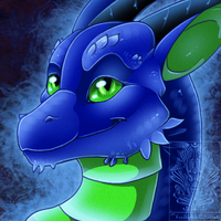Icon Comish - Too Blue and Cool by TwilightSaint