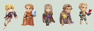 Comish - Final Fantasy Tactics by oneoftwo