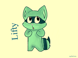 HTF: Lifty (Colored) by FlipThatSwitch