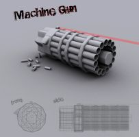 Machine Gun by spybg