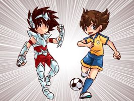 Tenma and Tenma by MZ15
