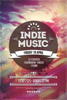 Indie Music Flyer by styleWish
