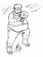 Naruto Male WG - Ramen Belly by NT-FA