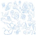 Sketch Pile by secoh2000