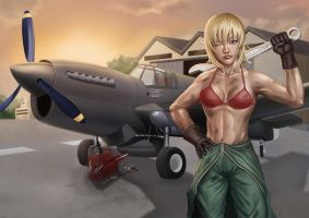Claire Mechanic preview by dotlineshape