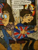 Oasis caricature by chrisxart