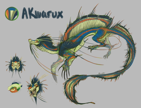 Character Sheet : Akwarux by Mariester