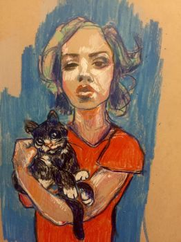 cat by cableclair
