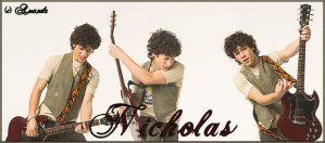 Nicholas of the Jonas brothers by LetTheFlamesBegin