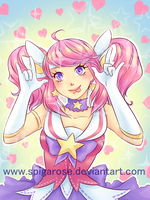 magical girl (star guardian) lux by SpigaRose