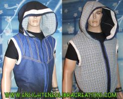 Reversible Cyber Hoody Doublet by RedheadThePirate