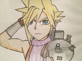 Cloud Strife  by ColeandLarry56