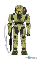 Master Chief: Battle READY by CporsDesigns
