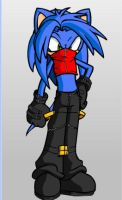 Zlix The Hedgehog by KingShadow20