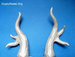 In Stock Custom Shimmer Deer John Costume Horns by che4u