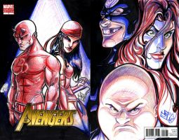 Daredevil Wraparound Cover by ComfortLove