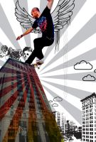 Photoshop Skater -revisited- by ronankelly