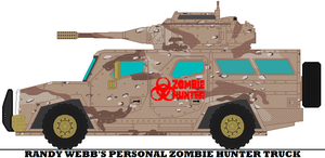 Randy Webb's Personal Zombie Hunter Truck by mcspyder1