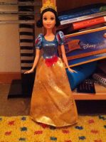 My Sparkling Princess Snow White Doll From 2012 by SweetHea