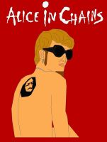 Alice In Chains Layne Staley by EspioArtwork