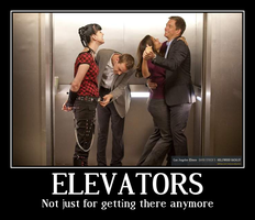 Elevators by GothPunkPrincess77