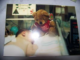 Another shot of me in my incubator (December 1987) by jhwink