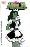 She Hulk French Maid by Inspector97