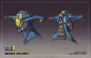 Genex Helmet by 152mm