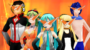 Cartoon Heroes [VOCALOID] by chrismaticfool