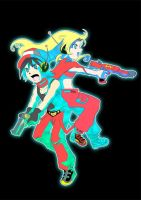 Cave Story couple by Chitsuya