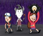 Don't Starve in Gravity Falls by MegaJamieV