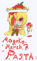 MogekoMarch #7: Fav Character Not From a Title by caleola
