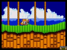 Tails X Cream Sonic 2 sprites by Sonic-fan3342