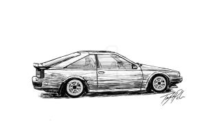S12 Nissan 200SX by taytayisawesome