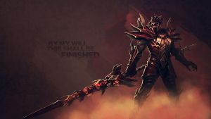 Jarvan IV Dragon Slayer Wallpaper by Uberkayt