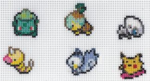 X-Stitch Christmas Pokemon by missy-tannenbaum