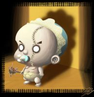 EVIL baby by Samholy