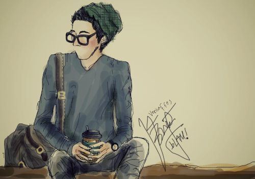 hipster guy by veniafefira