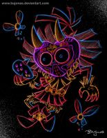 Skull Kid by bujonas